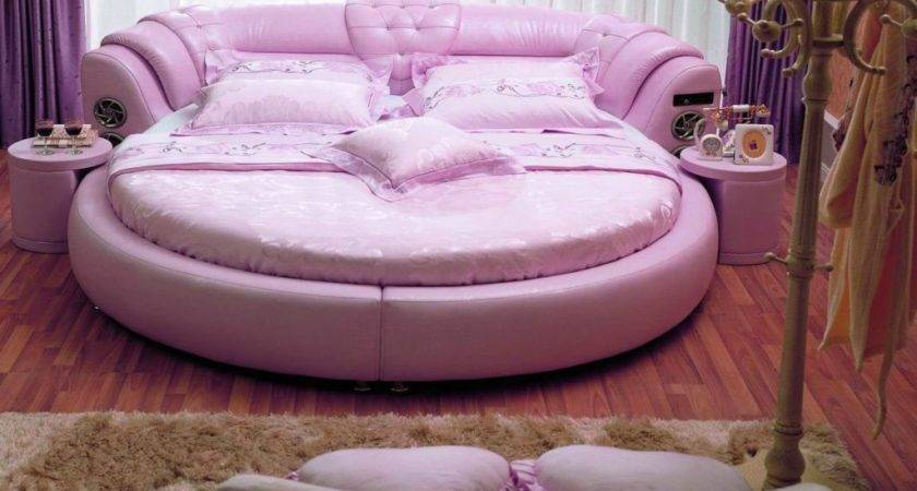 Cute Shaped Pink Unique Beds Girls