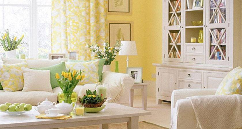 Cute Yellow Living Room Additional Inspiration