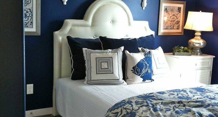 Dark Blue Bedroom Walls Decosee