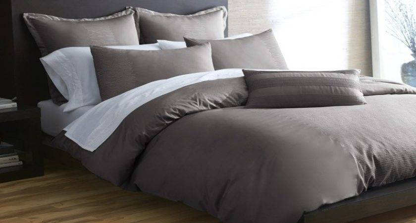 Dark Grey Comforter Home Garden