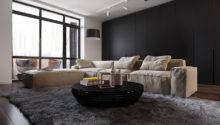 Dark Living Room Design Ideas Sophisticated Decor