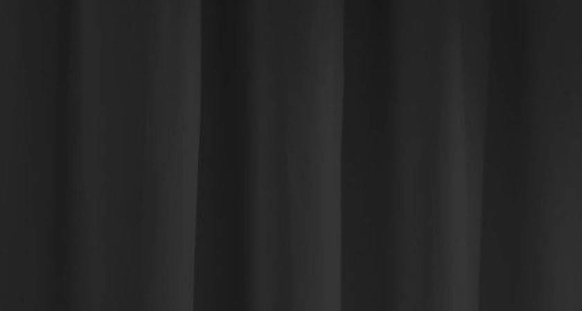 Deal Maytex Fabric Shower Curtain Liner Black