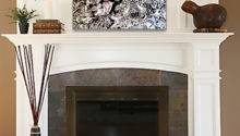 Decor Over Fireplace Floor Paint Ceiling