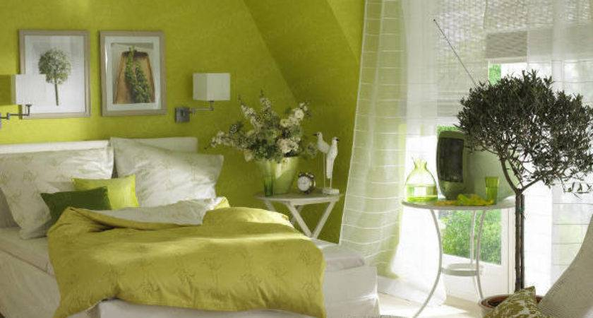 Decorate Bedroom Green Walls