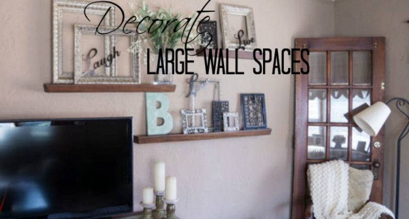 Decorate Large Wall Designed Decor