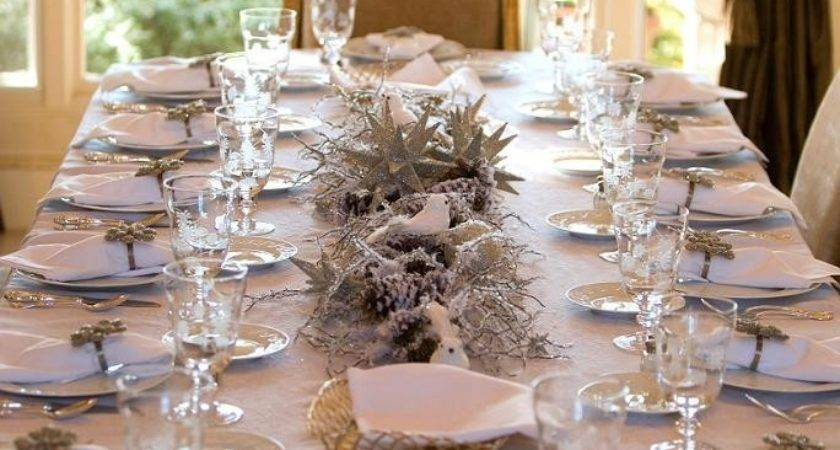 Decorate Table Christmas Easyday