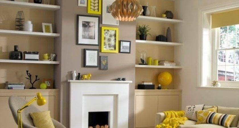 Decorate Your Living Room Large Wall Shelves