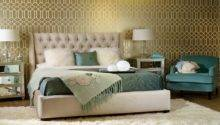 Decorating Ideas Bedroom Gold Teal