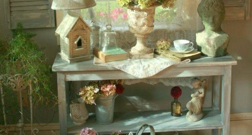 Decorating Ideas Living Rooms Shabby Chic
