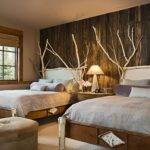 Decorating Ideas Small Master Bedrooms Rustic Wood