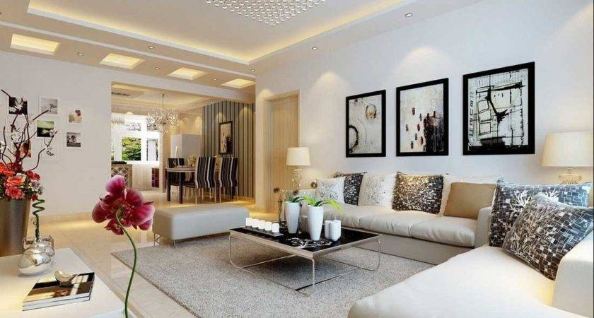 Decorating Large Living Room Wall Ideas Home Interior