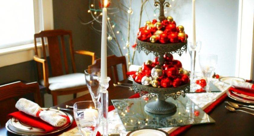 Decorating Your Dining Room Table Christmas