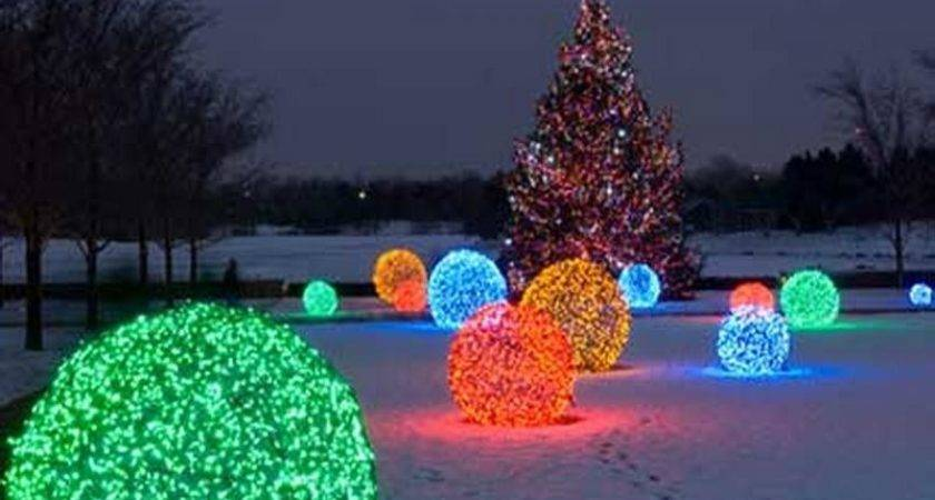 Decoration Outdoor Lighted Christmas Decorations