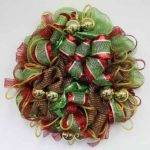 Decorations Deco Poly Mesh Wreath