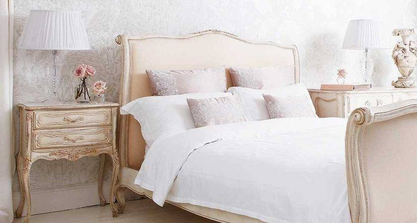 Delphine French Upholstered Bed Luxury