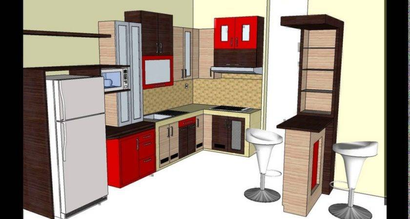 Design Kitchen Set Mini Bar