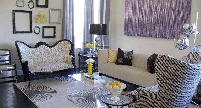 Design Living Room Eclectic Furniture