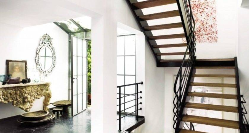 Designs Stairs Landing Simple Design Interior