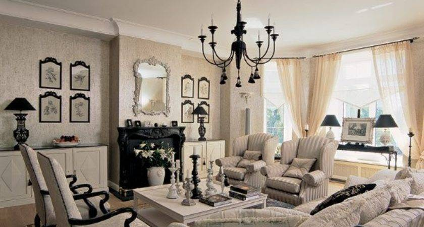 Desigrans Interior Style French Living Room Autumn