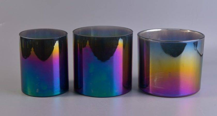Different Types Ion Plating Candle Holders Glass