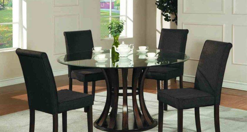 Dining Room Large Black Table Small