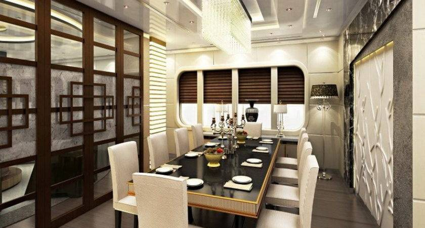 Dining Room Luxurious Decor Formal Designs