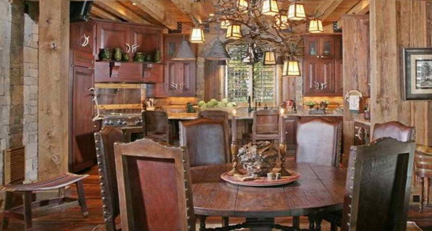 Dining Room Rustic Rooms Ideas Contemporary