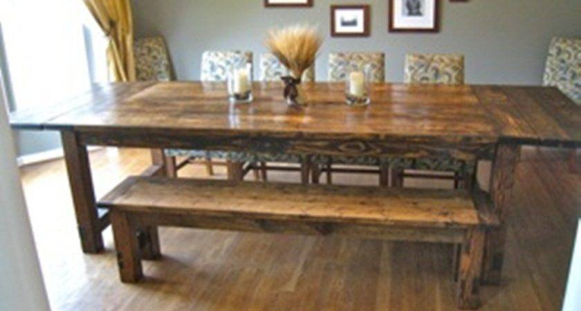 Dining Room Rustic Table Furniture Small Spaces