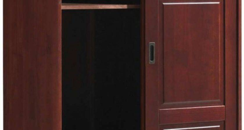 Discount Solid Wood Modern Armoire Wardrobe Sliding