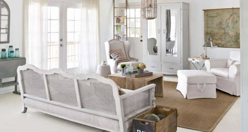 Distressed Shabby Chic Living Room Designs Inspire