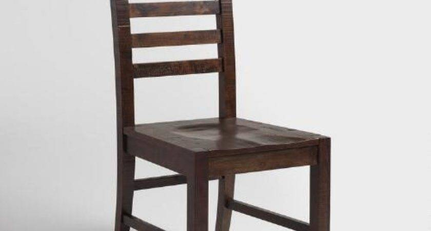 Distressed Wood Donnovan Dining Chairs Set World Market