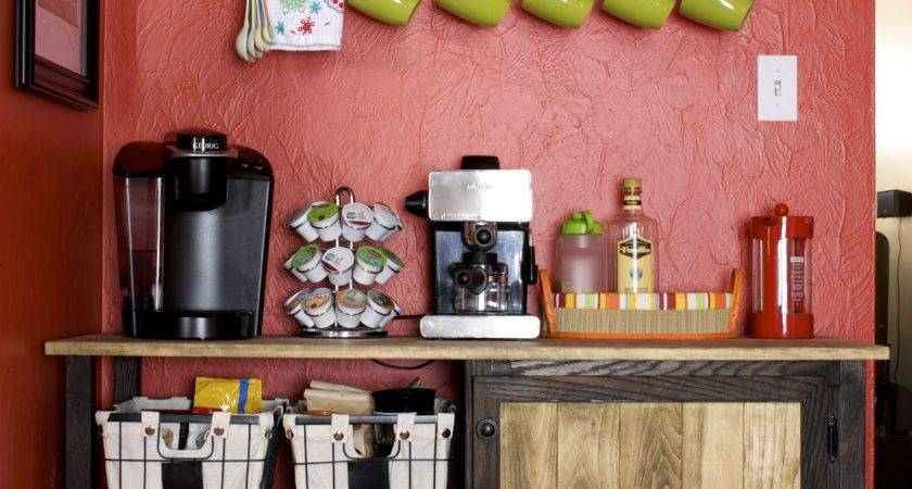 Diy Coffee Bar Mrs Merrill