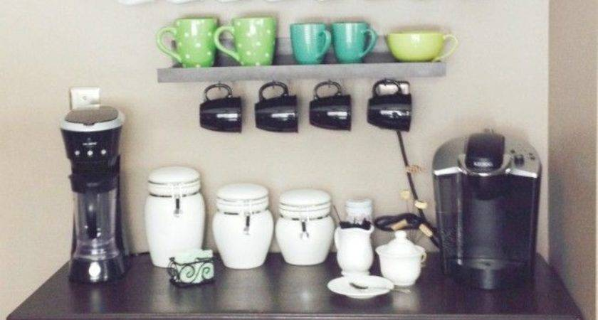Diy Coffee Bar Super Cute Pinterest Home Decor