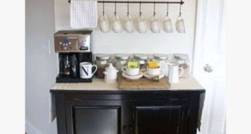 Diy Coffee Station Gypsy Dietitian