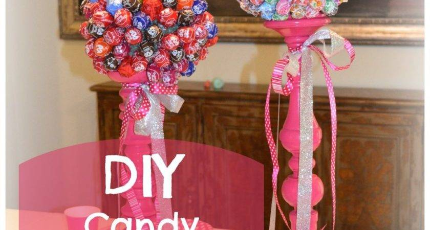 Diy Cute Candy Centerpieces Lauren Nicole Design