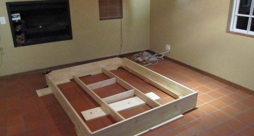 Diy Floating Platform Bed Beds Bedrooms