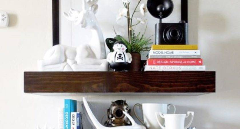 Diy Floating Shelves Can Build Quickly Easily