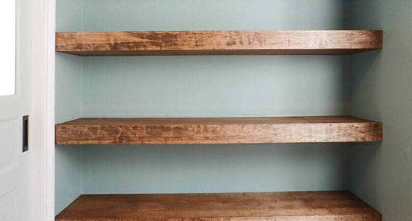 Diy Floating Wood Shelves