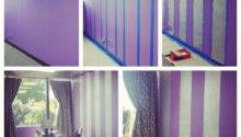 Diy Painting Stripes Wall Super Easy Chic