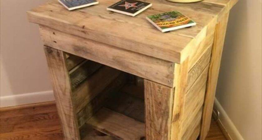 Diy Pallet Side Table Ideas Make