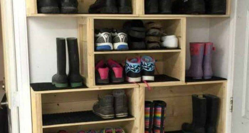 Diy Shoe Storage Ideas Mommy Moment