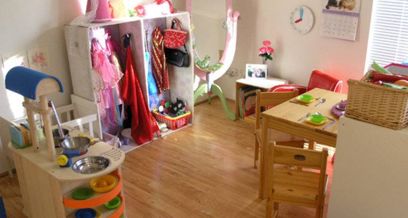 Dramatic Play Our Home Corner Space Childhood