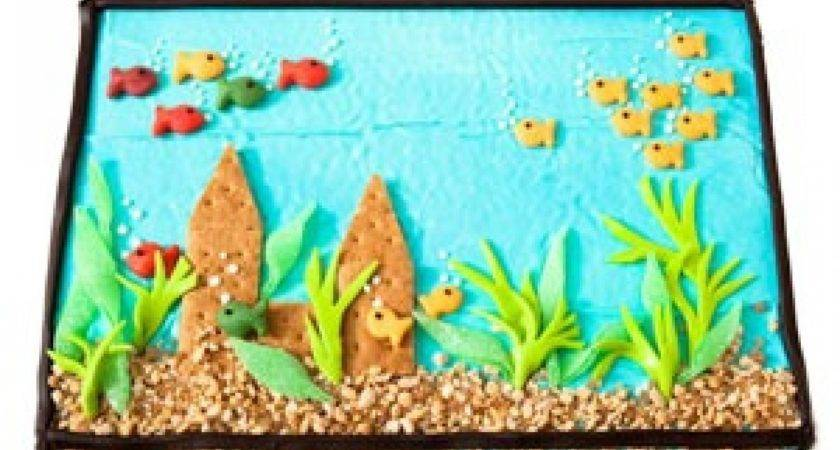 Drawings Fish Aquarium Drawing Clipart Best