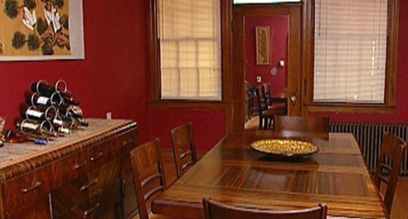 Dreadful Red Walls Dining Room Color Schemes Home Interiors