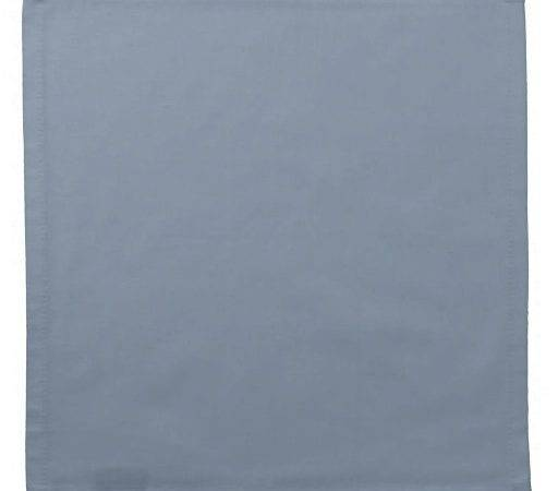 Dusty Blue Slate Grey Gray Solid Color Napkin