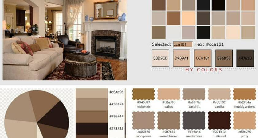 Earth Colors Living Rooms