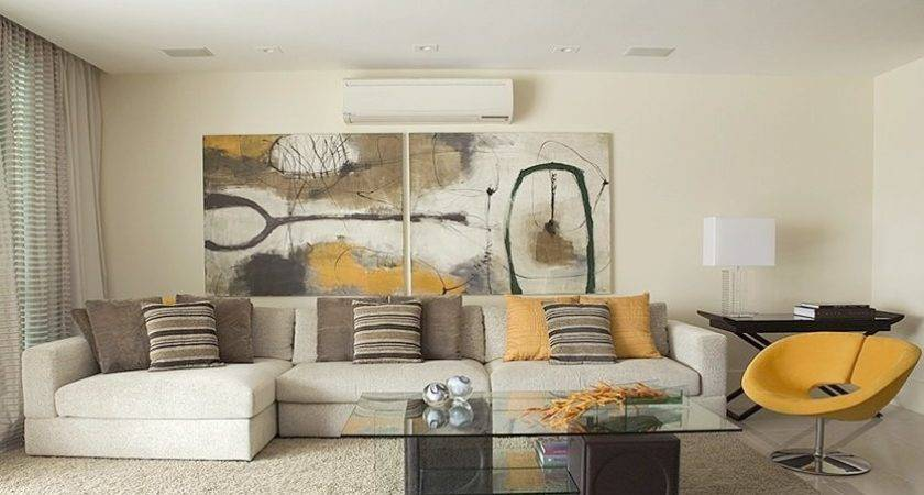Earth Tone Colors Living Room Modern Style Home