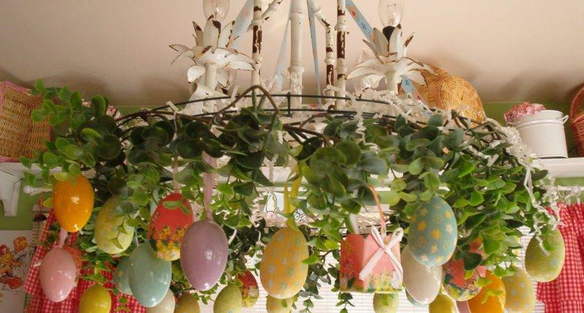Easter Decorations Grasscloth