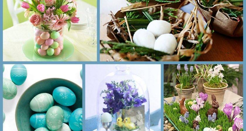 Easter Time Pinterest Table Decorations