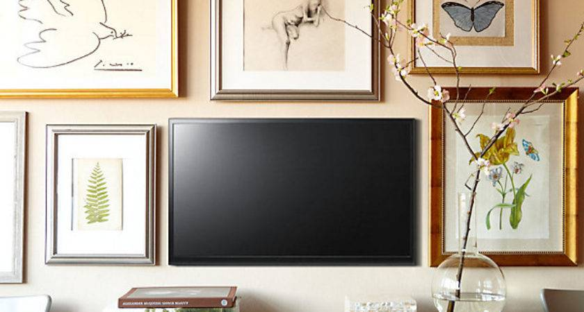 Easy Decorating Projects Hang Flat Screen